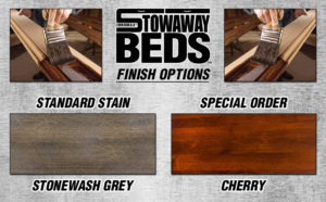 Stowaway Custom Finish Options