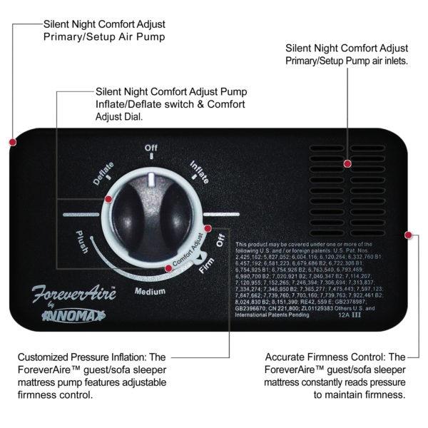 ForeverAire Pump On Adjustable Air Mattress