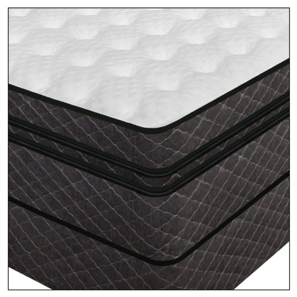 Luxury Support Medallion Digital Air Bed Corner Image