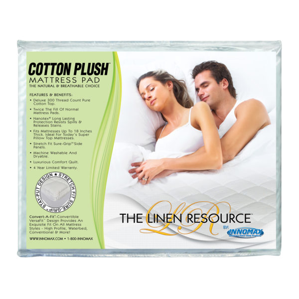 Cotton Plush Mattress Pad 1