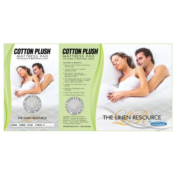 Cotton Plush Mattress Pad 4