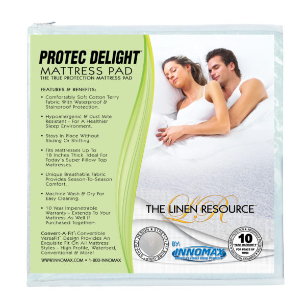 ProTec Delight Mattress Pad 1