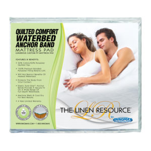 Quilted Comfort Anchor Band Mattress Pad 1