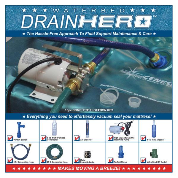 Waterbed Drain Hero 2