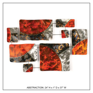 Abstraction - Metal Wall Decor