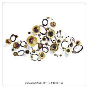 Coalescence - Metal Wall Decor