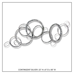 Contingent Silver - Metal Wall Decor