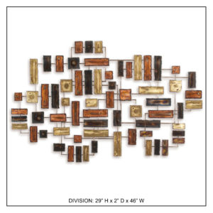 Division - Metal Wall Decor