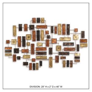 Division - Metal Wall Decor