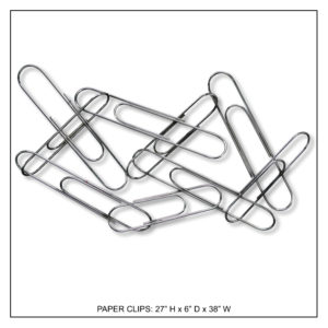 Paper Clips - Metal Wall Decor