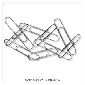 Paper Clips - Metal Wall Decor