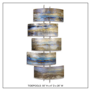 Tidepools - Metal Wall Decor