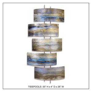 Tidepools - Metal Wall Decor