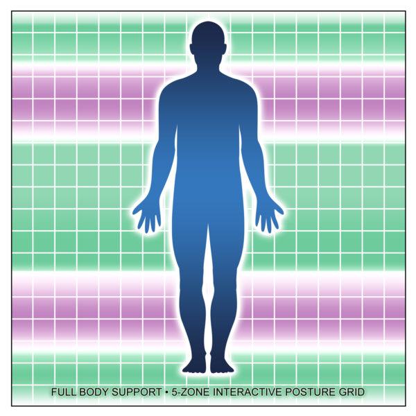 5-Zone Interactive Posture Grid