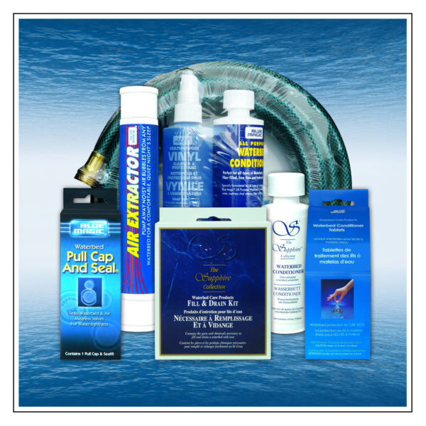 Blue Magic Watermattress Care and Maintenance Products