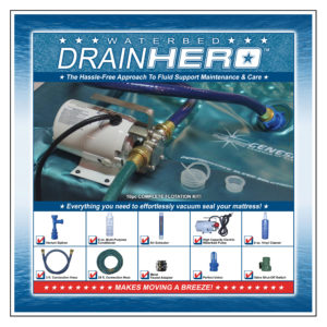 Waterbed Drain Hero