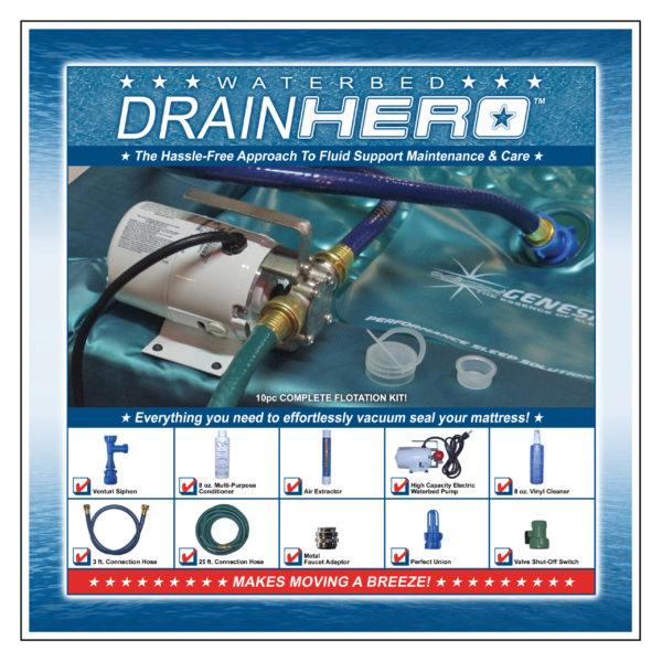 Waterbed Drain Hero