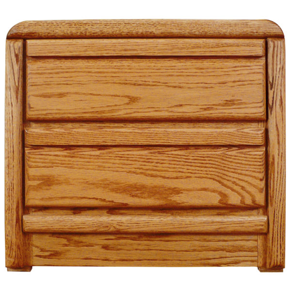 InnoMax Oak Land La Jolla 2 Drawer Nightstand