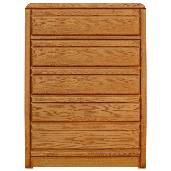 InnoMax Oak Land La Jolla 5 Drawer High Chest