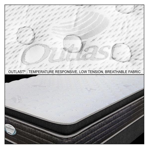 Rhapsody Outlast® Cover