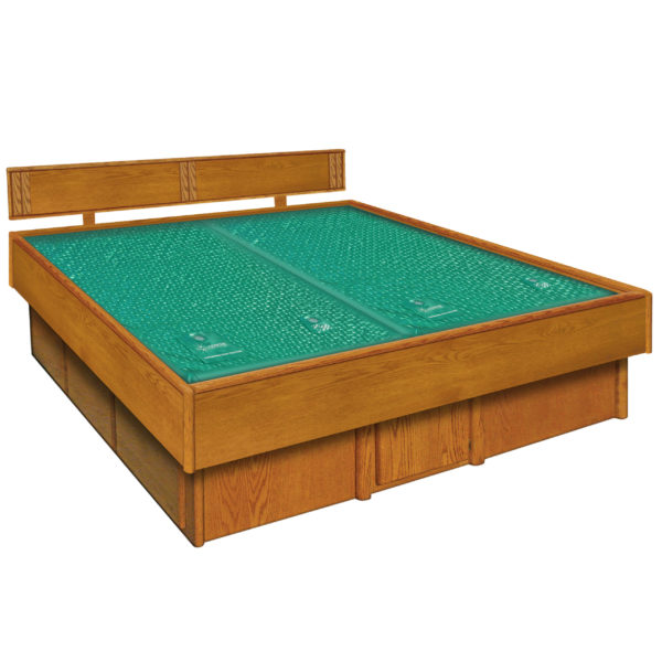 InnoMax Oak Land 5 Board Frame With Waterbed Bedroom Furniture