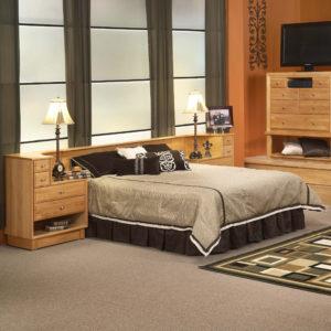 InnoMax Oak Land Denmark Wall Unit Bedroom Furniture