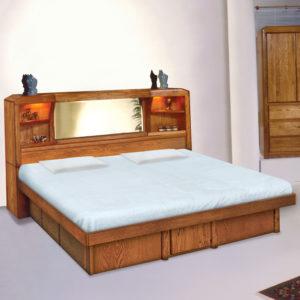 InnoMax Oak Land Marathon Free Standing Headboard Bedroom Furniture