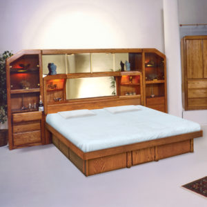 InnoMax Oak Land Marathon Wall Unit Bedroom Furniture