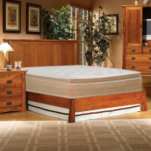 InnoMax Oak Land Mission Creek Panel Bed Bedroom Furniture