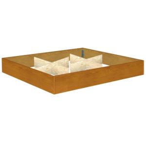 InnoMax Oak Land 12 Inch Oak Riser Bedroom Furniture