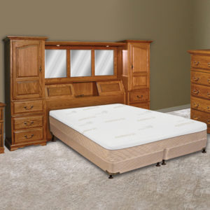 InnoMax Oak Land Venetian Wall Unit Bedroom Furniture