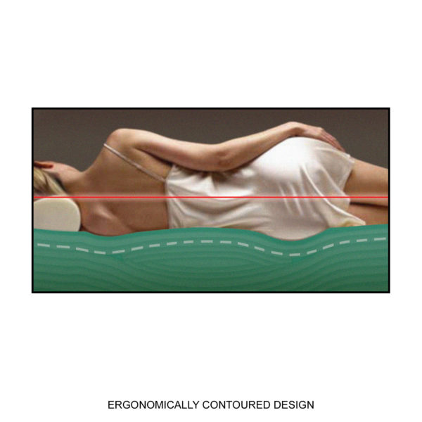 Ergonomically Contoured Design