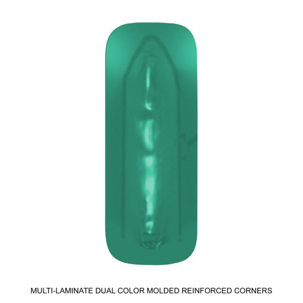 Multi-Laminate Dual Color Molded Reinforced Corners