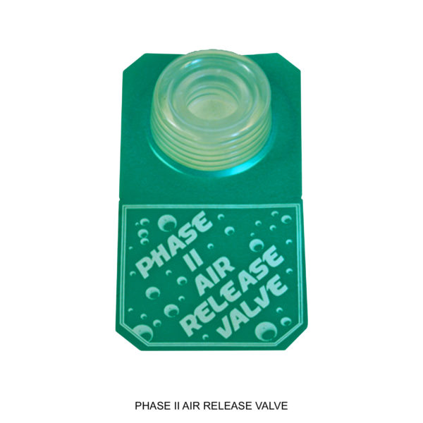 Phase II Air Release Valve