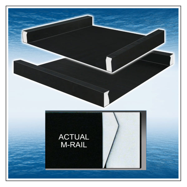 M-Rail Memory-Weave™ Wrapped Power Edge Support Rails