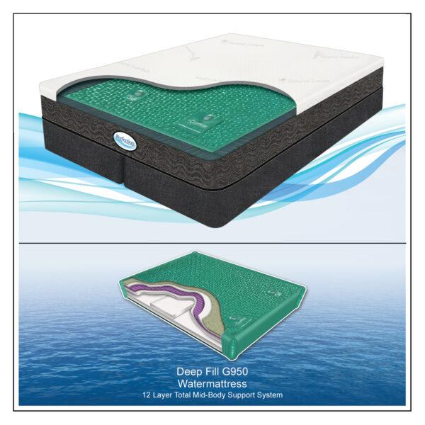 Perfection Sponge Bed G950 Waterchamber