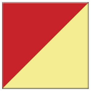Reversible Red & Yellow