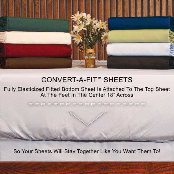 "Convert-A-Fit ""Stay Put"" Design"
