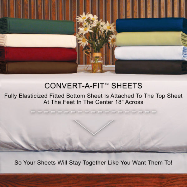 "Convert-A-Fit ""Stay Put"" Design"