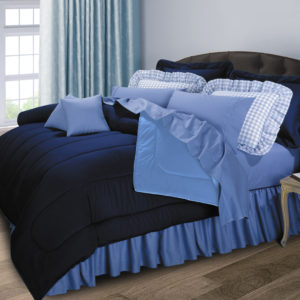 Reversible 200 Thread Count Double Stuffed Comforters