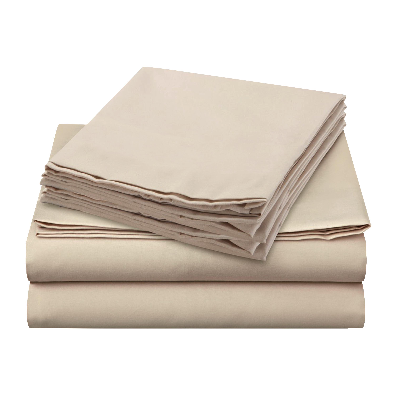 Sheer Elegance Sheets - Beige