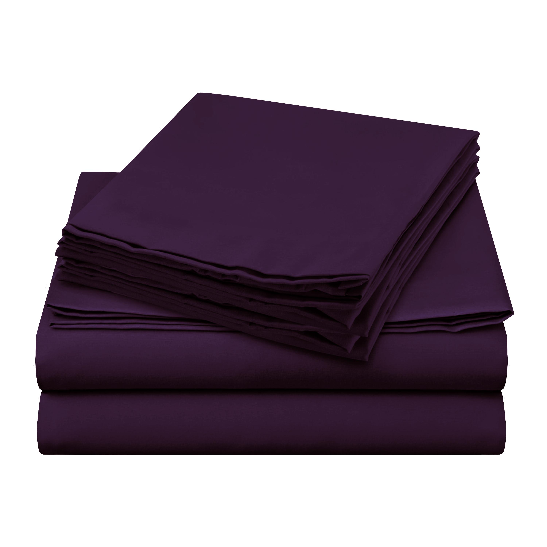 Sheer Elegance Sheets - Dark Purple