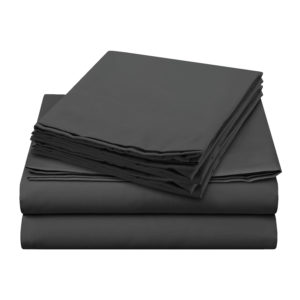 Sheer Elegance Sheets - Light Grey