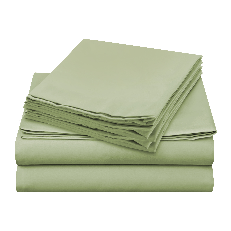 Sheer Elegance Sheets - Light Green
