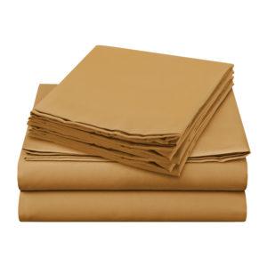 Sheer Elegance Sheets - Yellow