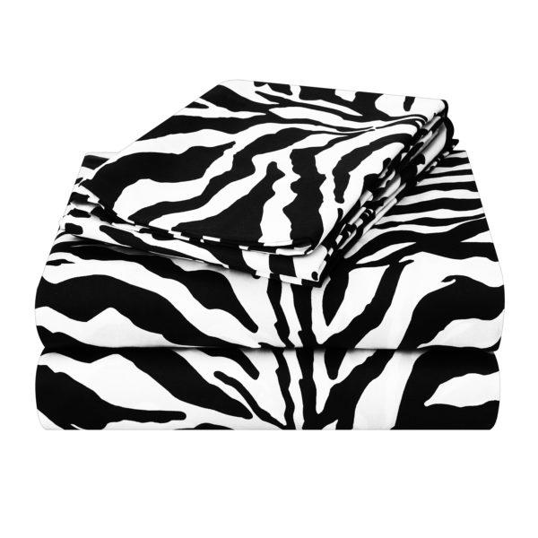 Zebra 200 Thread Count Convert-A-Fit Sheets