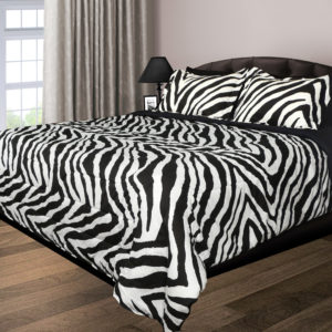 Zebra 200 Thread Count Double Stuffed Comforter
