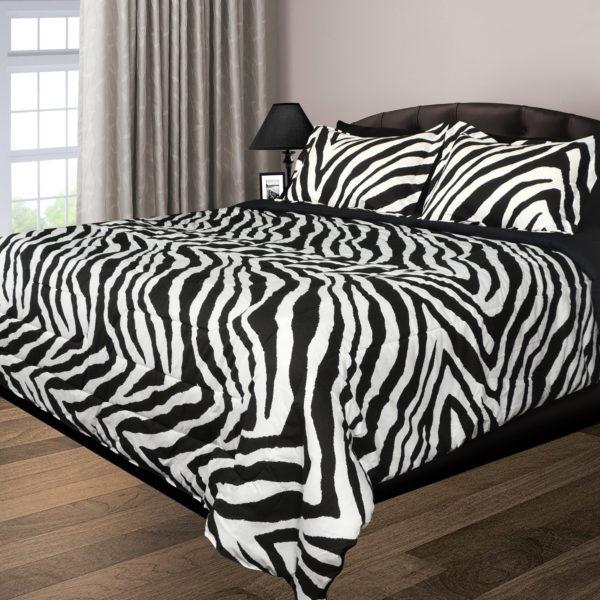 Zebra 200 Thread Count Double Stuffed Comforter