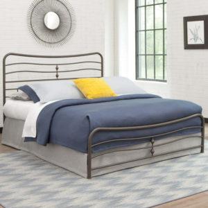 Simplicity Cosmos Metal Bed Frame