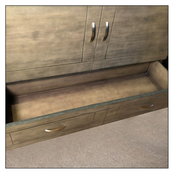 Stowaway New Yorker Cabinet Bed Storage Drawer